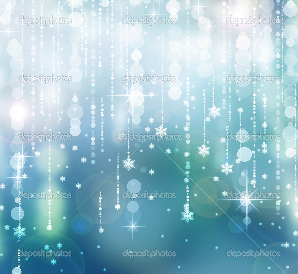 Christmas Abstract Background Winter Holidays