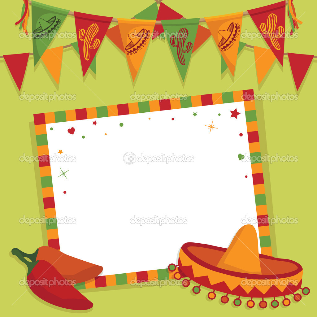 ᐈ mexican fiesta invitation templates stock images royalty free mexican fiesta pictures download on depositphotos