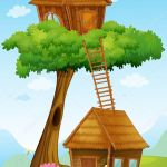 ᐈ Of Tree Houses Stock Drawings Royalty Free Tree House Sketch Cliparts Download On Depositphotos
