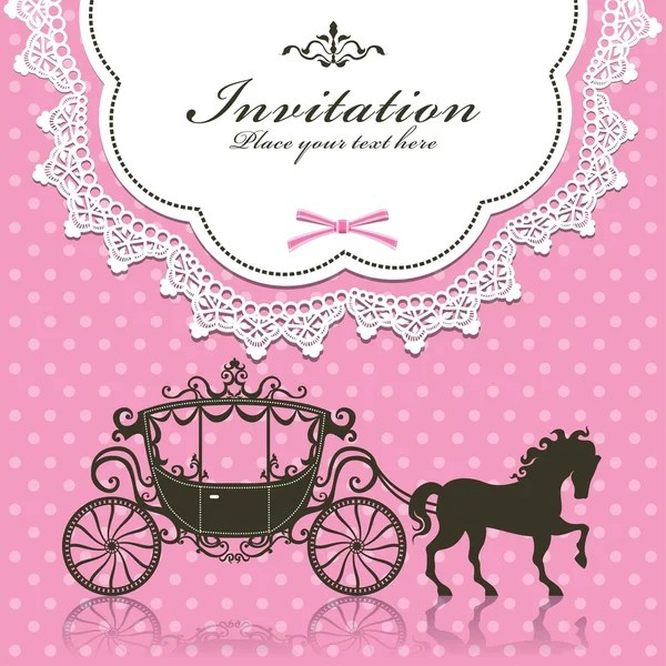 ᐈ princess invitation birthday stock