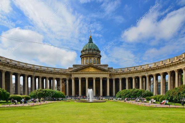Казанский собор — Стоковое фото © s_garmashov #11796292