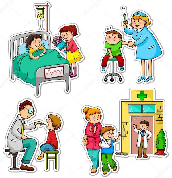 cuidado de la salud — Vector de stock © ayeletkeshet #11418897