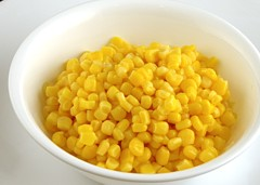 200 Calories of Canned Sweet Corn