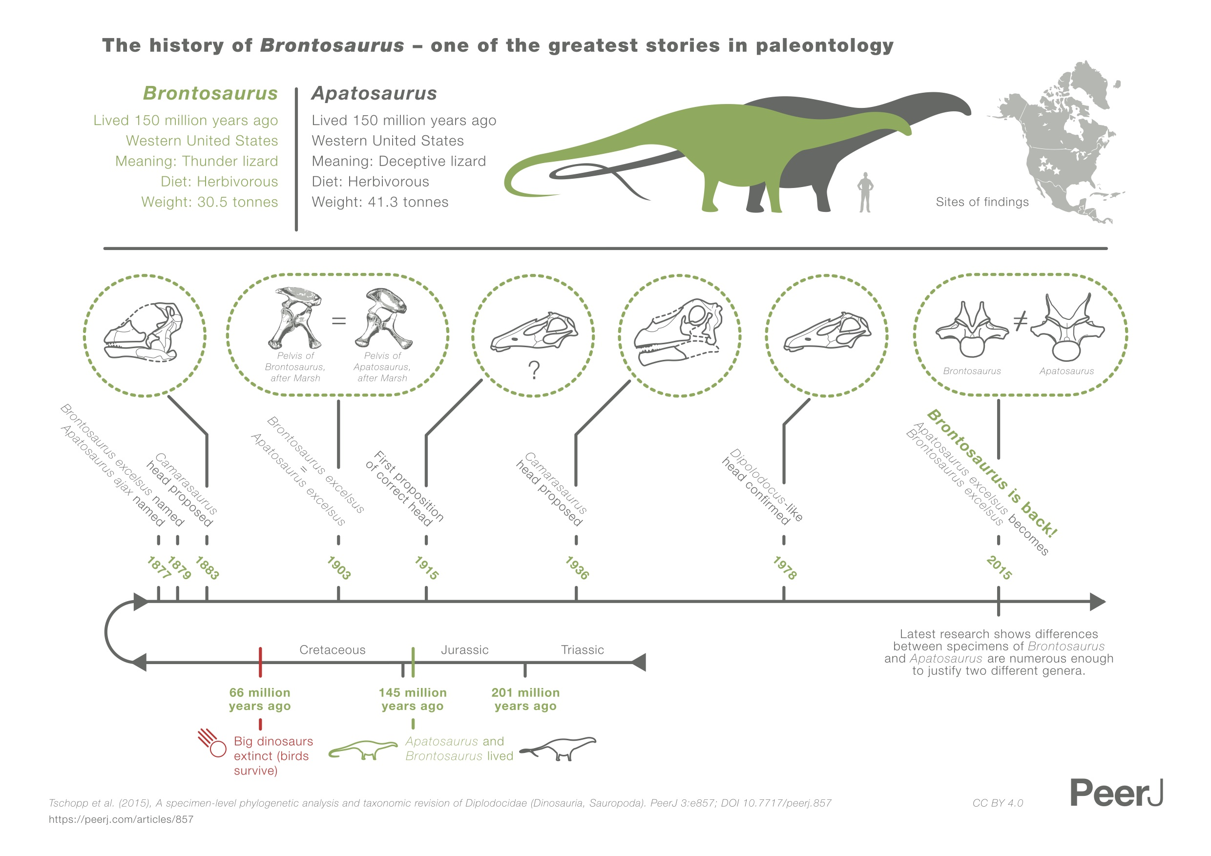 April High Five Genetic Engineering Brontosaurus And