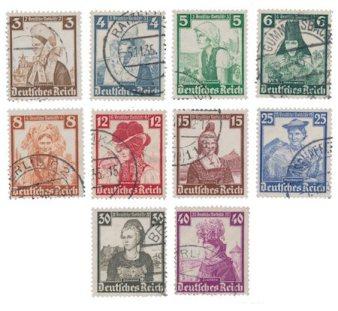 Filatelija. Vokietijos imperija pašto ženkluose 2