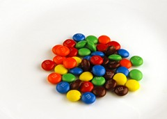 200 Calories of M&M Candy