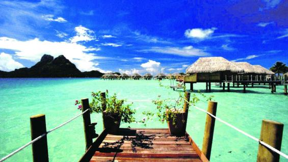 Polinesia Francesa, paraíso del buceo.