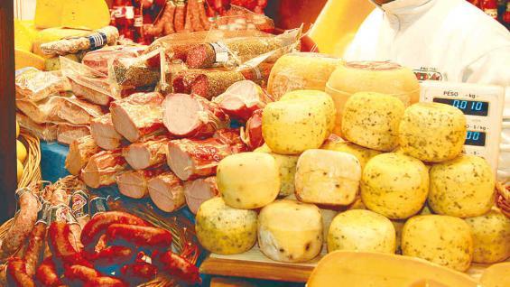 Muestra de los sabores regionales que se encontrarán en la feria.