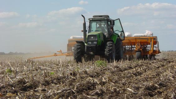 RECTA FINAL. La siembra de trigo 2018/19 en la provincia está prácticamente terminada. (LA VOZ)