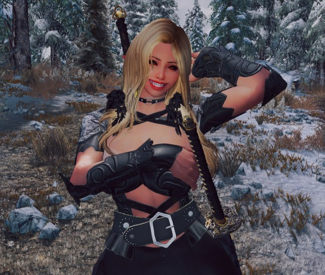Busty And I Mean Busty Vampire Girl