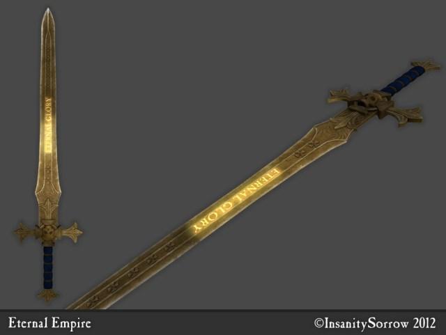 Oblivion Best Sword – Vscad