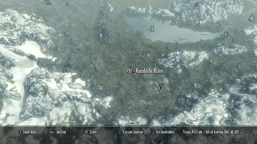 Roadside Ruins Retreat At Skyrim Nexus Mods And Community