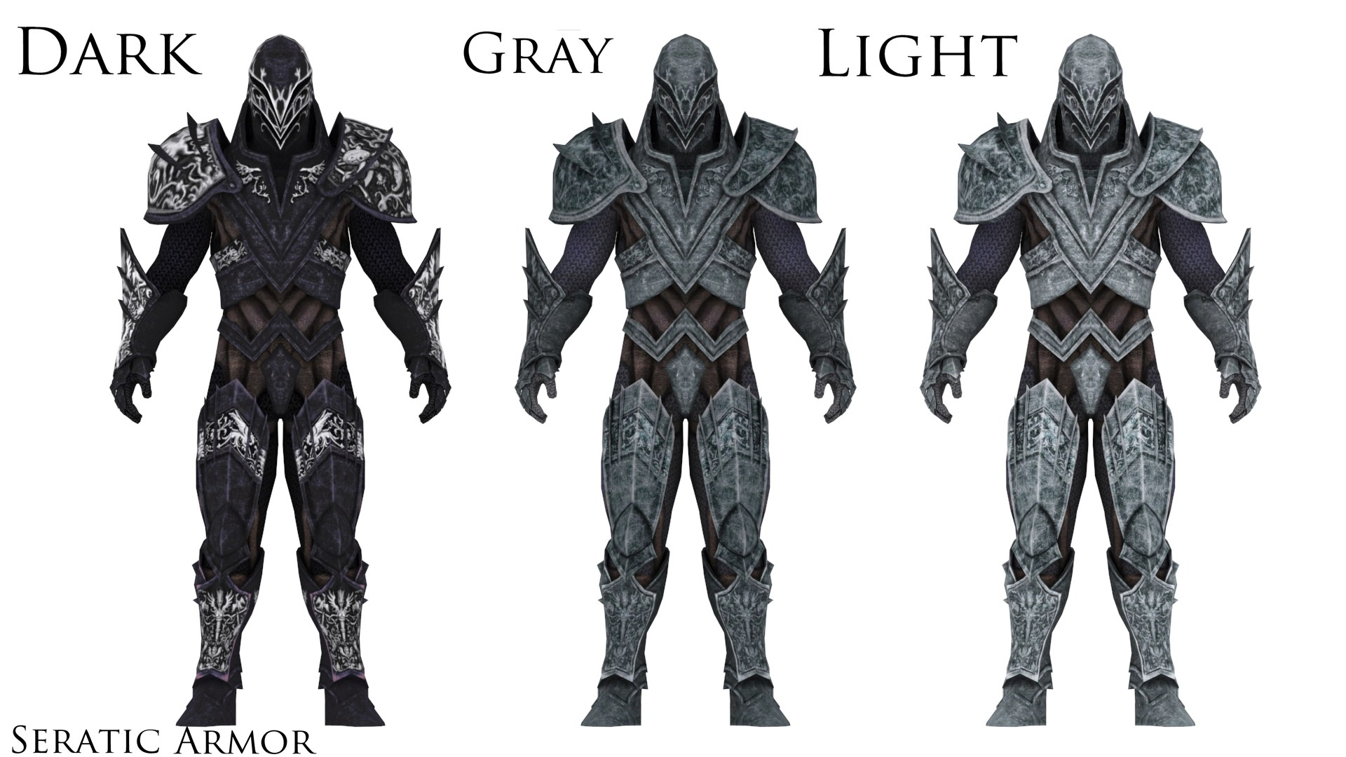 Seratic Armor At Skyrim Nexus
