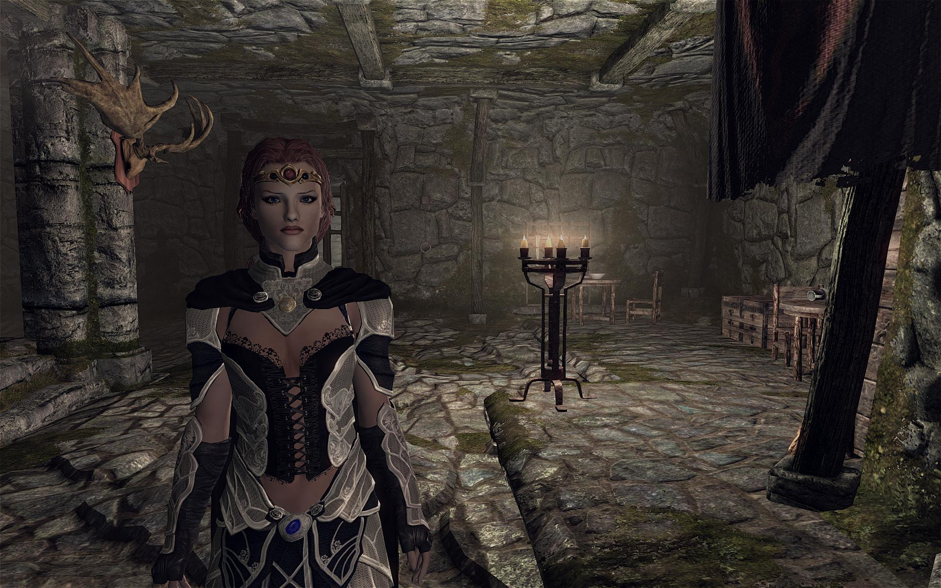 Sonjia Lvl 1 Red Haired Beauty At Skyrim Nexus Mods And Community