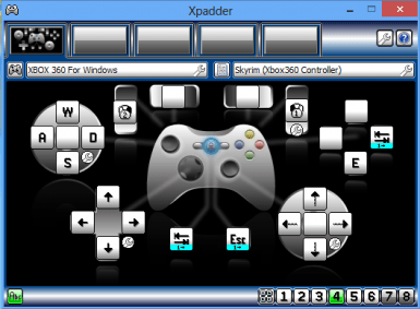 Very detailed Xpadder config for Xbox 360 controller at ...