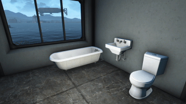 Ceramic bathroom fixtures  sink   toilet   bathtub  at Fallout 4     Ceramic Bathroom Fixtures
