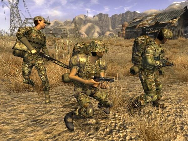 High Desert Tactical Gear at Fallout New Vegas - mods and ...
