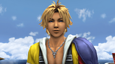FFX Vibrant Tidus Eyes At Final Fantasy XX 2 HD Remaster Nexus Mods And Community