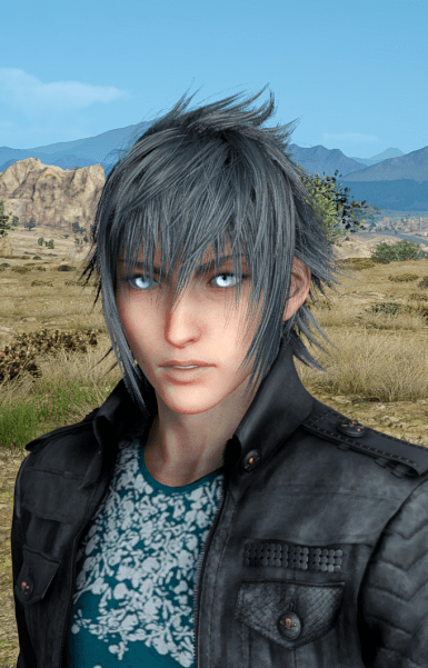 Change Noctis Hair Eyes Shirt Outfit Color At Final Fantasy XV Nexus Mods And Community