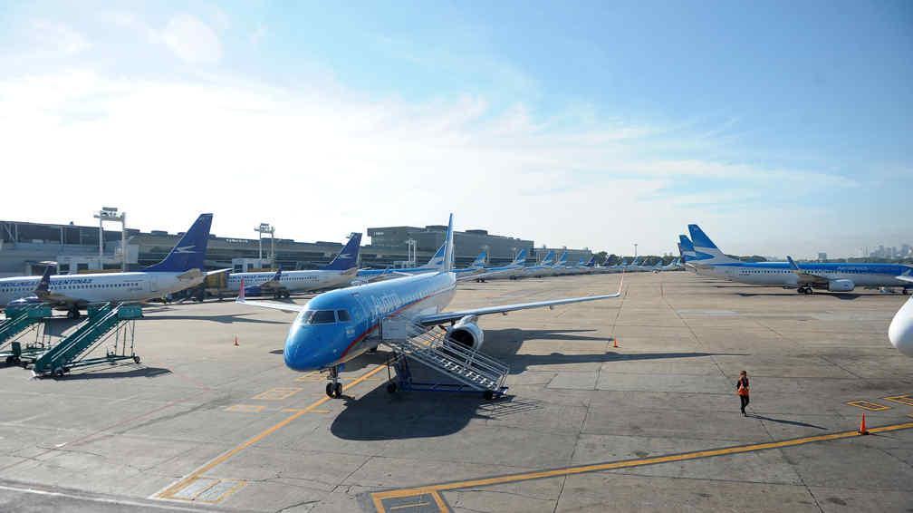 Resultado de imagen para Aerolíneas Argentinas aeroparque