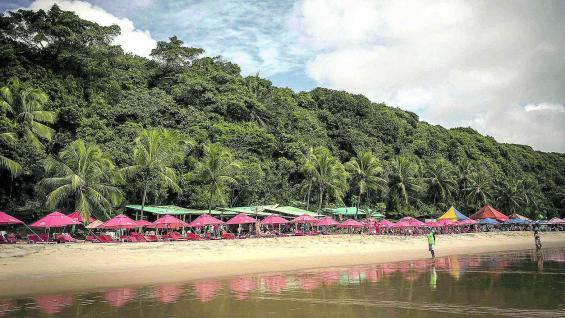 Conjunción infalible: profusa vegetación, playas y mar.