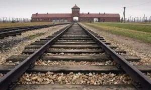 Entrata del campo di concentramento di Auschwitz
