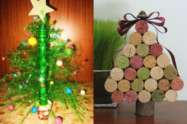 Idee Creative Per Un Albero Di Natale Fai Da Te Foto