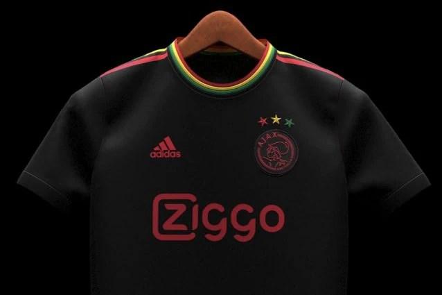 La nueva camiseta del Ajax estará inspirada en Bob Marley