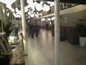 A photo of the Tourle pizzeria in Melegnano, one of those involved in the investigation (from Facebook)
