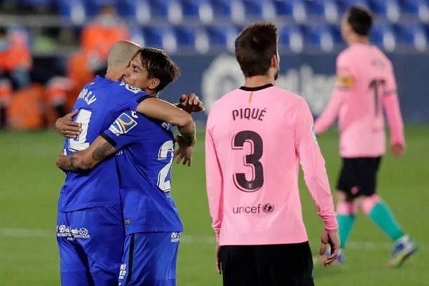 Getafe vs Barcelona, defeat