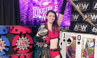 Hikaru Shida posts heartfelt message on one-year anniversary as AEW Women's Champion