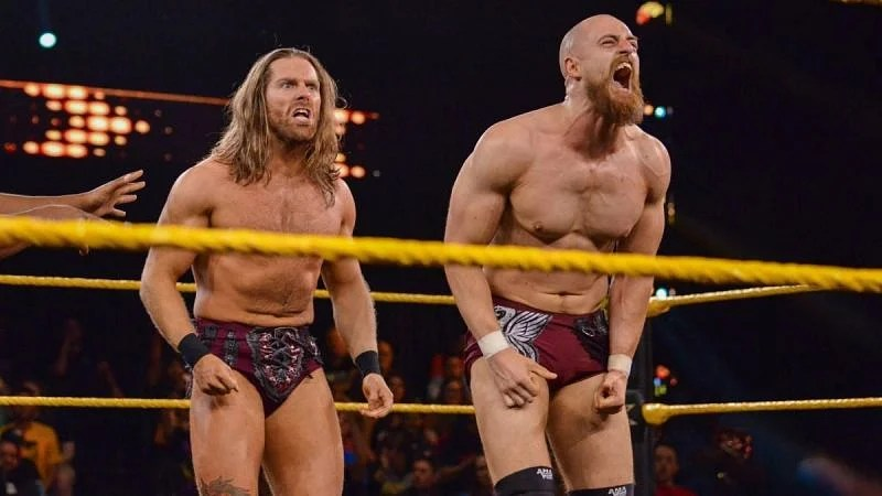 Grizzled Young Veterans return on tonight's NXT