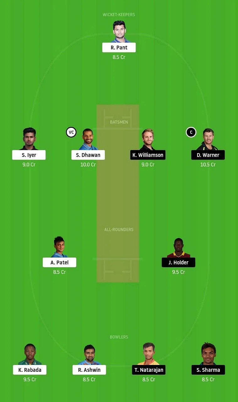 DC vs SRH IPL Dream11 Tips