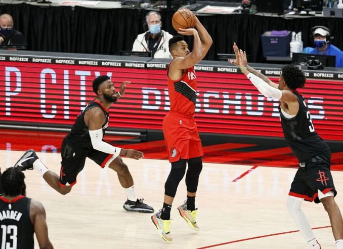 Portland Trail Blazers 128-126 OT Houston Rockets: 5 hits and flops as CJ McCollum and James Harden engage in 3-point shootout | NBA 2020-21 Season