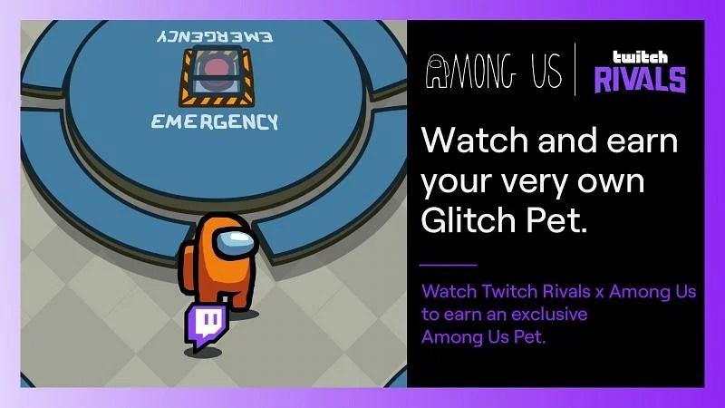 Twitch Animale domestico Glitch Among us