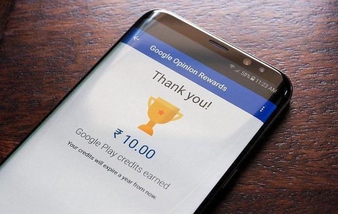 (Image via Google Opinion Rewards)