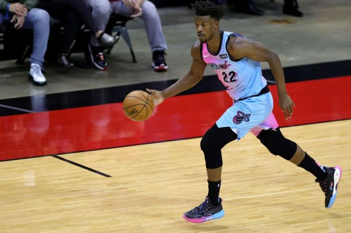 Jimmy Butler of Miami Heat # 22