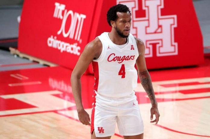 # 4 Justin Gorham of Houston Cougars