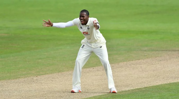 Joffra Archer is playing his first Test in the subcontinent.