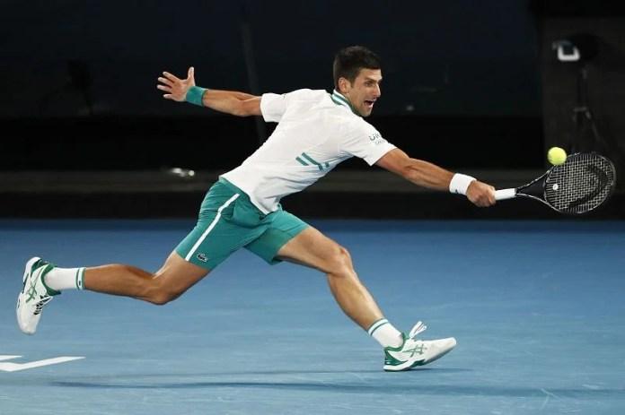 Nonik Djokovic takes action against Daniel Medvedev