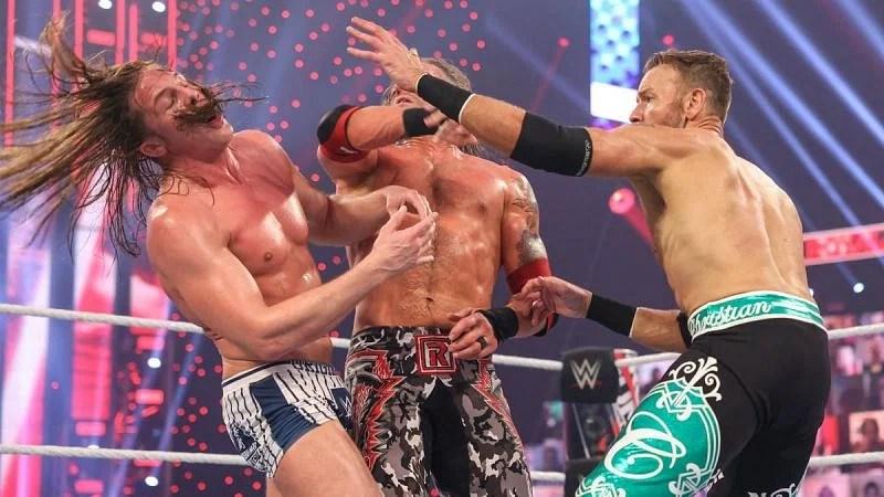 Christian at WWE Royal Rumble