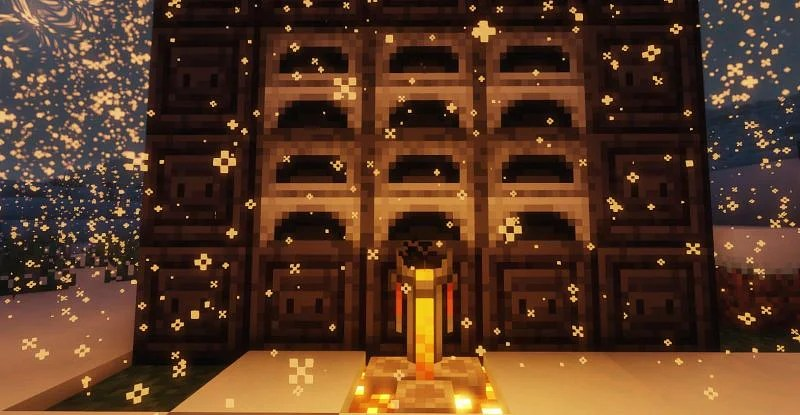A Brewing Stand in the furnace area (Image via Minecraft)