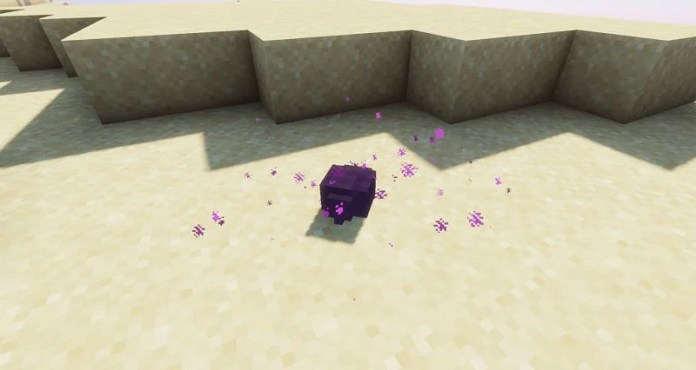 Shown: An Endermite who is about to despawn (Image via Minecraft)