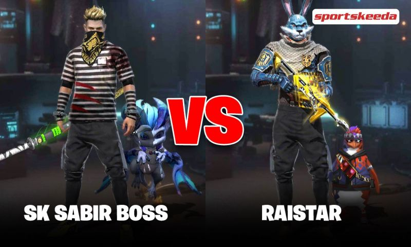 SK Sabir Boss vs Raistar: Who has better Free Fire stats in May 2021?