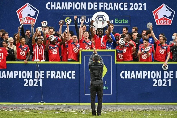 Lille have created the ultimate fairytale after dethroning PSG as Ligue 1  champions