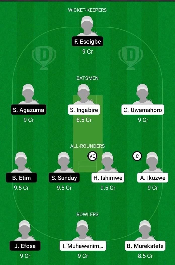 RWA-W vs NIG-W Dream11 Team Prediction, Fantasy Cricket Tips & Playing 11 Updates for Today's Kwibuka Women's T20 Match – June 9th, 2021