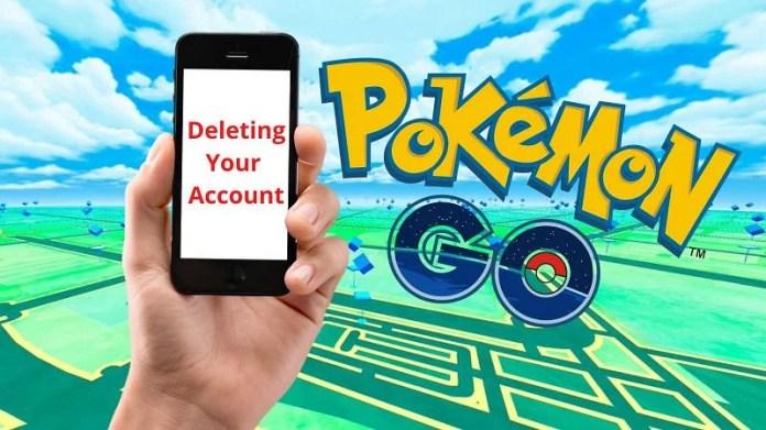 How to delete a Pokemon GO account