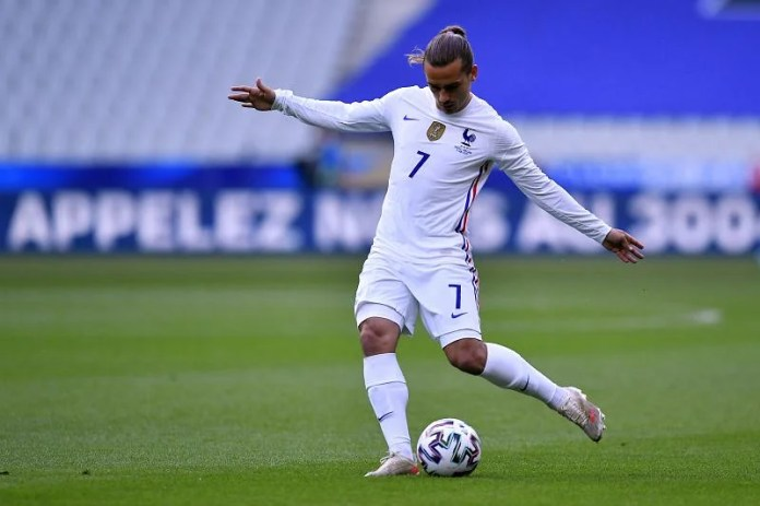 Antoine Griezmann opened the scoring on Tuesday