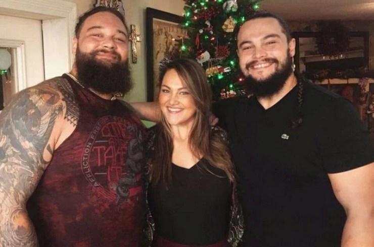 Bray Wyatt, Bo Dallas, and Mika Rotunda