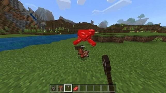 Cow Slaughter in Minecraft (Photo via Minecraft Pocket)